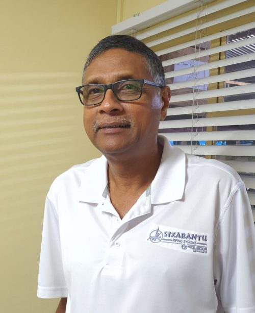 Sizabantu Piping Systems South Africa Management Team Chymie Naidoo